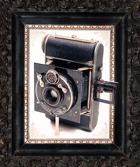 Camera, Frame, Old, Vintage, Antique, Photo, Film