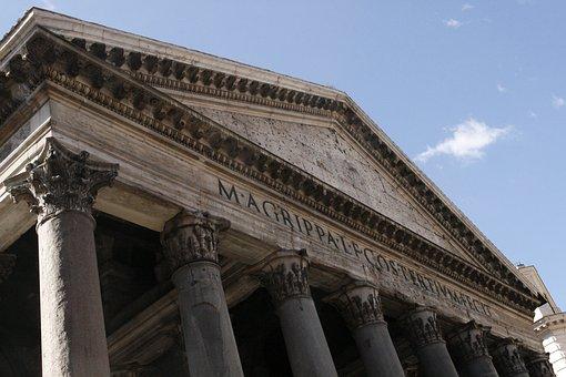 Rome, Pantheon, Monument, History, Colors, Capital