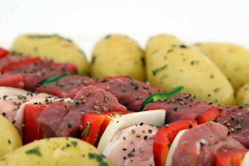 Barbeque, Bbq, Beef, Cholesterol, Close Up, Closeup