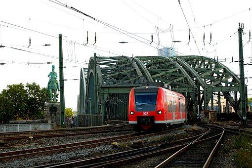 Railway Bridge, Cologne, Hohenzollern Bridge, Bridge