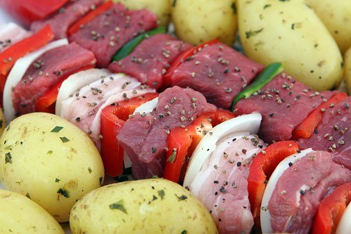 Barbeque, Bbq, Beef, Cholesterol, Close Up, Colorful