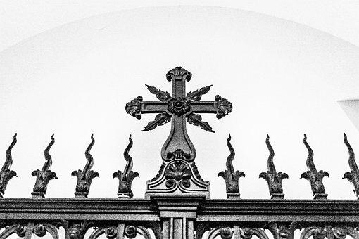 Decorative Gate, Cross, Gate, Decorative, Entrance