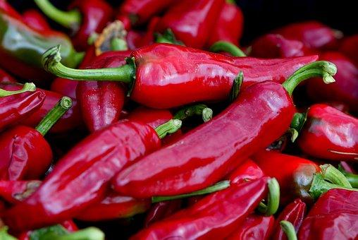 Chili Pepper, Espelette, Espelette Pepper
