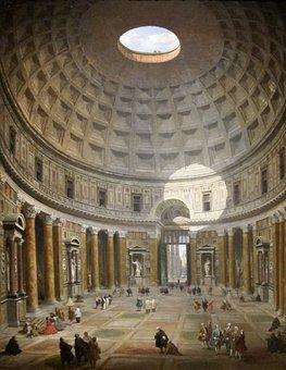Giovanni, Panini, Italian, Interior, Pantheon
