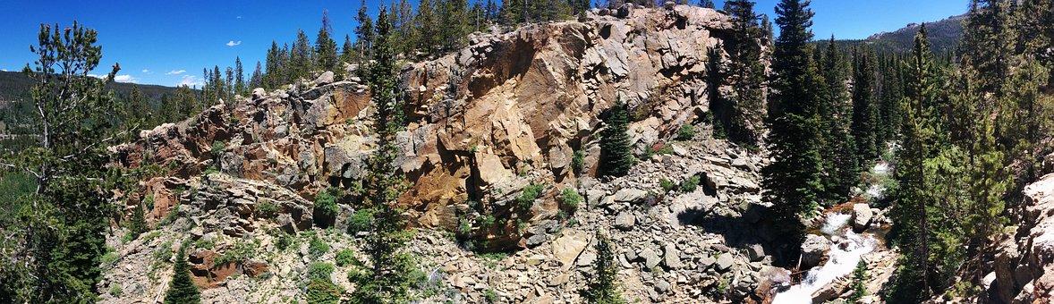 Panorama, Glacier Creek, Nature, Tourism, Travel