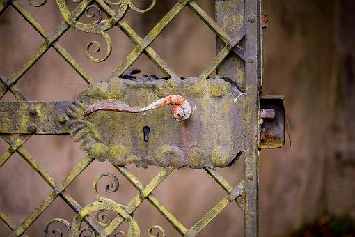 Door, Goal, Security, Protection, Limit, Metal, Steel