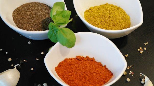 Spices, Paprika, Chili, Powder, Pepper, Grain, Dried