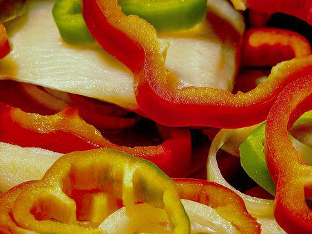 Pepper, Bell Peppers, Food, Red Chillies, Green Peppers