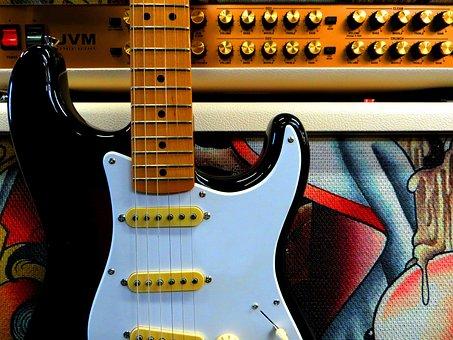 Guitar, Electric Guitar, Stratocaster, Strat