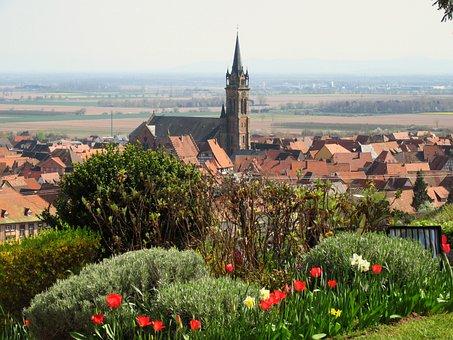 Alsace, Village, France, Heritage, Old Houses