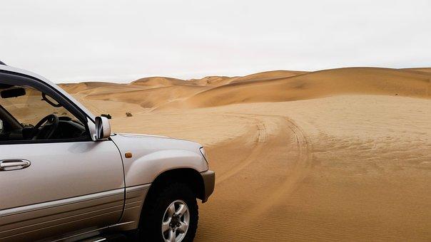 Africa, Namibia, Landscape, Namib Desert, Desert, Dunes