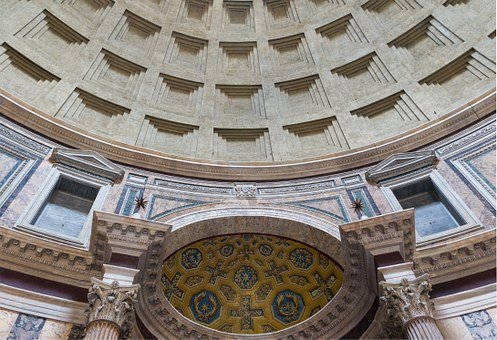 Pantheon, Rome, Interior, Italy, Choir, Mosaics