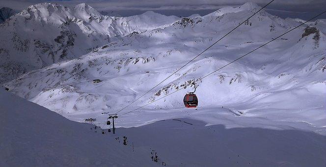 Alps, Skis, Ski Snowboard, Mountains, Mountain, Snow