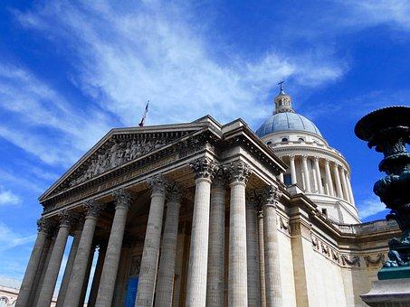 Paris, Pantheon, Architecture, City, Outdoor Reception
