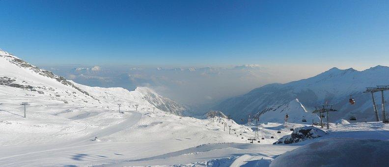 Panorama, Kitzsteinhorn, Above The Clouds