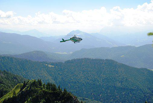 Police, Helicopter, Rescue, Air Monitoring, Aircraft