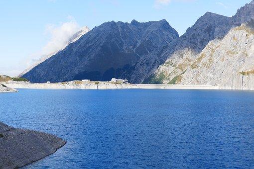 Reservoir, Dam, Lüner Lake, Energy Generation