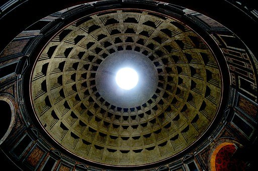 Rome, Italy, Pantheon, Dome