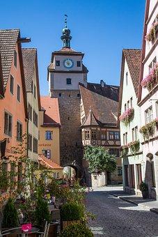 Rothenburg Of The Deaf, Rothenburg, Old Town