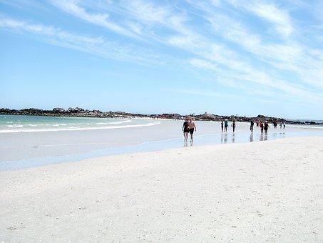 Cape Town, Beach, Sand, Vacation, Coast, Tourism, Shore