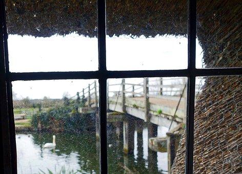 Window, Scene, Blurred, Looking Out Window, Window View
