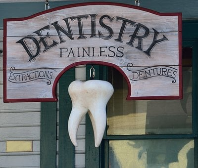 Old, Dentist Sign, Signage, Background, Dentist, Dental
