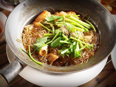 Food, Thai, Chicken, Soup, Seafood, Lemongrass, Meat