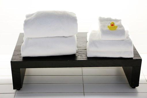 Towels, Tables, Bathroom, Laundry, Clean, Duck, Spa