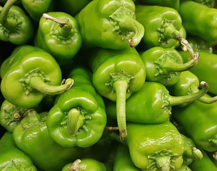 Anaheim Peppers, Chiles, Chili Peppers, Hot, Spicy