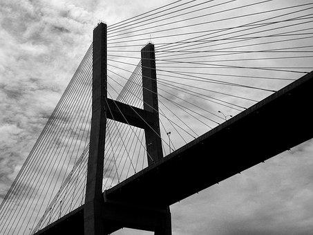Bridge Span, Bridge, Structure, Architecture, Usa