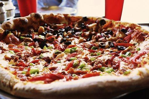 Pizza, Pepperoni, Food, Pepperoni Pizza, Tasty, Crust