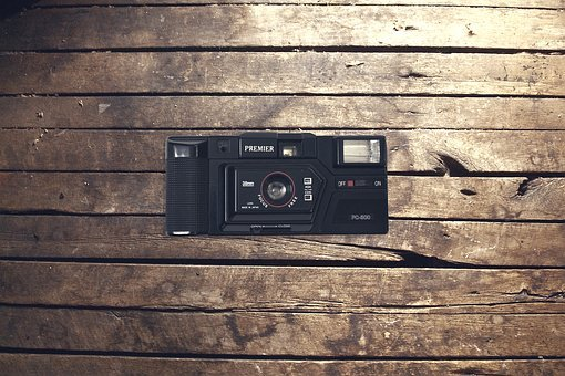 Vintage, Camera, Wood, Work, Retro, Old, Technology