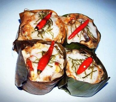 Thai, Food, Dish, Thailand, Meal, Pepper, Hor, Plate