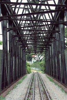 Railroad, Bridge, Tracks, Transportation, Railway