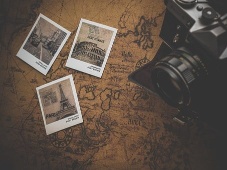 Old, Retro, Antique, Vintage, Classic, Photo, Map