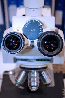 Microscope, White, Chemistry, Microscopy, Expensive