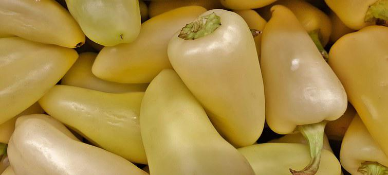 Caribe, Caribe Peppers, Peppers, White Peppers, Hot