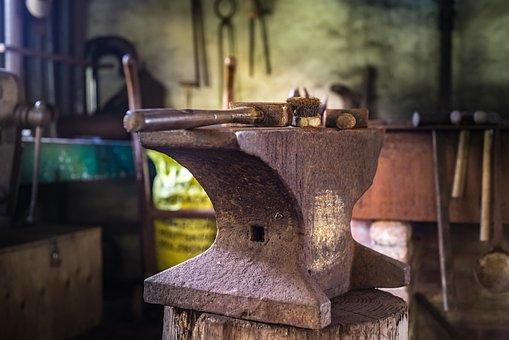 Anvil, Smith, Hammer, Tool, Workshop, Blacksmith, Craft
