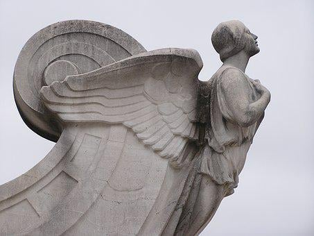 Angel, Statue, Wings, Guardian, Stone, Miracle, Faith
