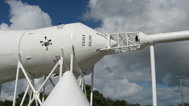 Command Capsule Saturn Rocket, Nasa, Apollo