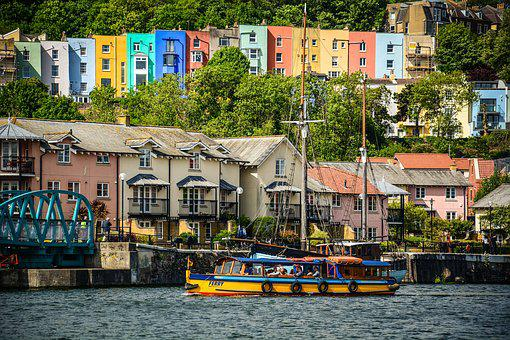 Bristol, Harbour, Ferry, Quay, Bridge, Tourism, Travel