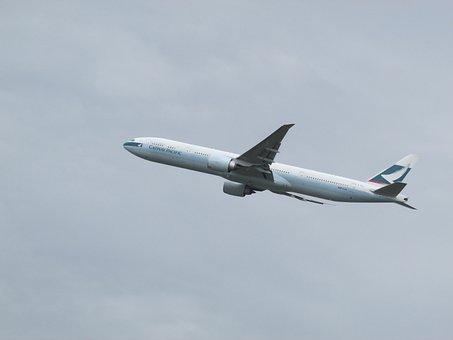 Plane Spotting, Plane, Heathrow, Cathay Pacific