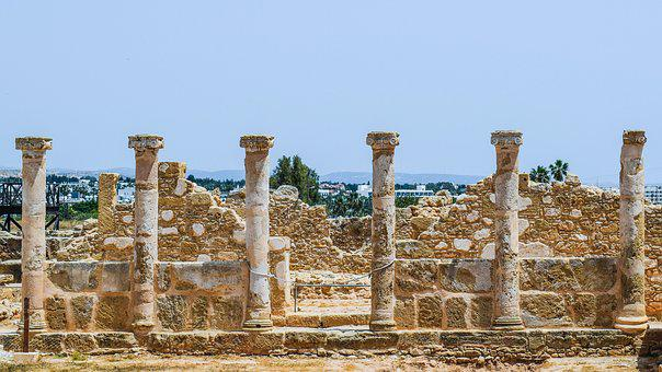 Pillars, Columns, Remains, Architecture, Ancient, Stone