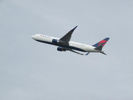 Plane Spotting, Plane, Heathrow, Delta Airlines