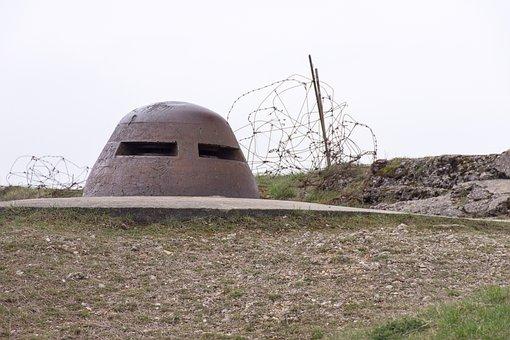 Fort, Douaumont, Bunker, Observer, Verdun, France