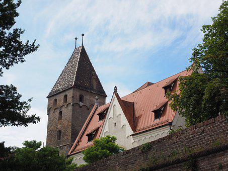 Ulm, Goose Tower, Tower, Old Town, Building