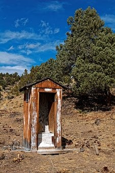 Nevada, Usa, Ione, Leave, Ghost Town, Blue, Sky, Desert