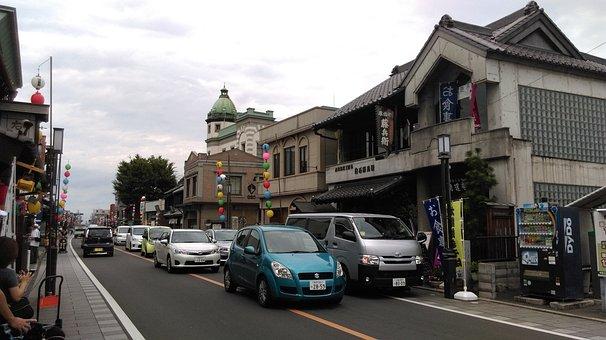 Japan, Travel, Kawagoe-shi Japan, Kawagoe City