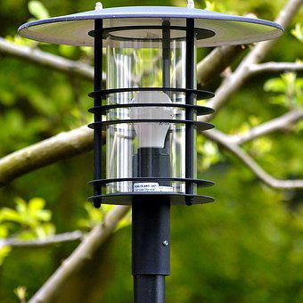 Exterior Lamp, Garden Lamp, Light, Lantern, Metal Lamp