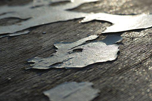 Abstract, Wood-fibre Boards, Painted, Flooring, Macro